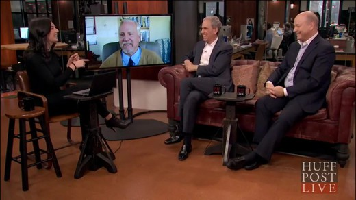 huffingtonpost-live-meditation-against-terrorism_laughing-together Interview of John Hagelin, Bob Roth and Colonel Brian Rees